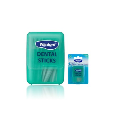 Wisdom - Fresh Effect Extra Minty Dental Sticks - 100sticks