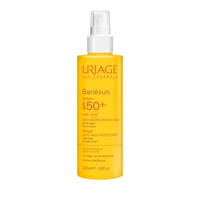 Uriage - Bariesun SPF 50+ Spray F Αντηλιακό Σπρέι - 200ml