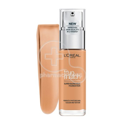 L'OREAL PARIS - TRUE MATCH Super Blendable Foundation 6.5.D/6.5.W (Caramel Dore) - 30ml