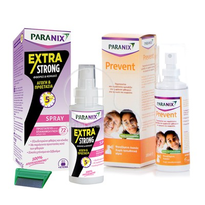 PARANIX - PROMO PACK EXTRA STRONG Spray - 100ml & Prevent - 100ml