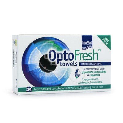INTERMED - OPTOFRESH Towels - 20pcs