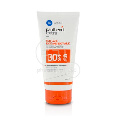 PANTHENOL - PANTHENOL EXTRA SUN CARE Face & Body Milk SPF30 - 150ml