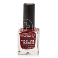KORRES - GEL EFFECT Nail Colour Νο59 Wine Red - 11ml