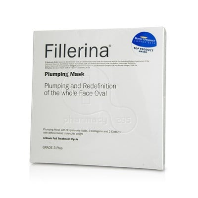 FILLERINA - Plumping Mask Grade 3 Plus - 4τεμ.