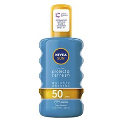 NIVEA SUN SPRAY PROTECT & REFRESH SPF50 200 ml
