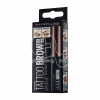 MAYBELLINE - TATTOO BROW Long Lasting Tint No3 (Dark Brown) - 4,6gr