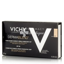 Vichy Dermablend FDT Compact Cream SPF30 (25 Nude) - Make up υψηλη κάλυψη, 9.5gr