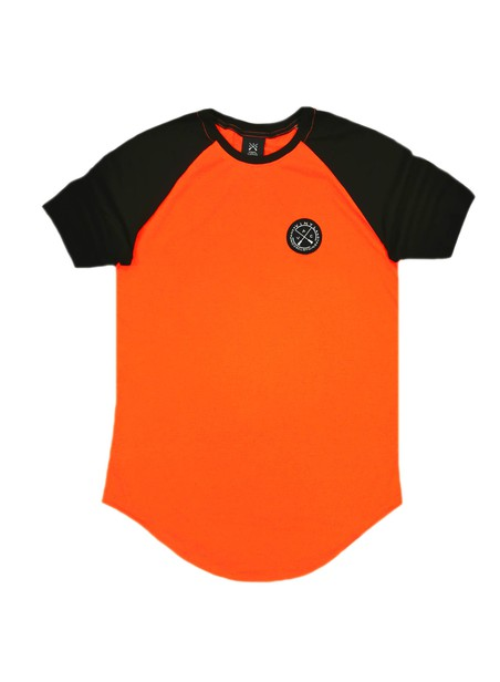 VINYL ART CLOTHING ORANGE NEON T-SHIRT