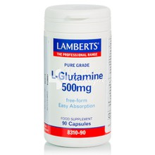 Lamberts L-GLUTAMINE 500mg, 90caps
