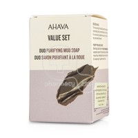 AHAVA - PROMO PACK 2 ΤΕΜΑΧΙΑ Purifying Mud Soap - 2x100gr