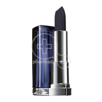 MAYBELLINE - COLOR SENSATIONAL Loaded Bold Lipstick No880 (Pitch Black) - 4,2gr