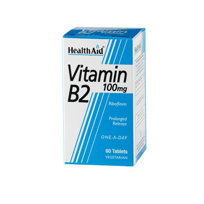 Health Aid - Vitamin B2 - 60tabs