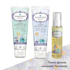 Pharmasept Baby Care Tol Velvet Extra Calm Cream Κρέμα Αλλαγής Πάνας 150ml + Baby Care Tol Velvet Soothing Cream Ενυδατική Κρέμα 150ml + Baby Natural Oil Φυσικό Ενυδατικό Λάδι 100ml.