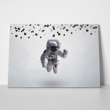 Astronaut in outer space 3 390589255 a
