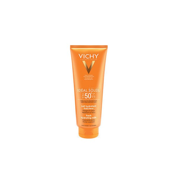 VICHY IDEAL SOLEIL FRESH HYDRATING MILK SPF50+ 300ML