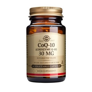 SOLGAR CoQ-10 30mg 30vegetable capsules