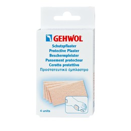 Gehwol Protective Plaster Thick Παχύ Προστατευτικό Έμπλαστρο, 4 τεμάχια