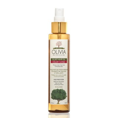 Olivia - Silky Hair Oil Color Shine Ενυδατικό Θρεπτικό Λάδι για Βαμμένα Μαλλιά - 130ml