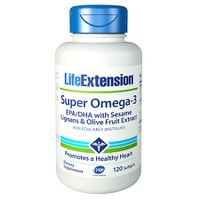 LIFE EXTENSION SUPER OMEGA 3 EPA/DHA 120SOFTGELS