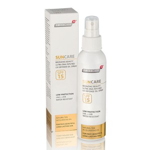 Swisscare suncare spf 15 high spray swisscare 2