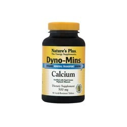 Nature's Plus Dyno-Mins Calcium 500mg 90ταμπλέτες