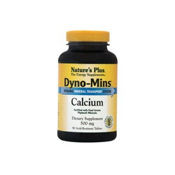 Nature's Plus Dyno-Mins Calcium 500mg 90 tablets