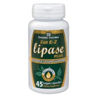 DYNAMIC ENZYMES LIPASE PLUS 45 CAPS