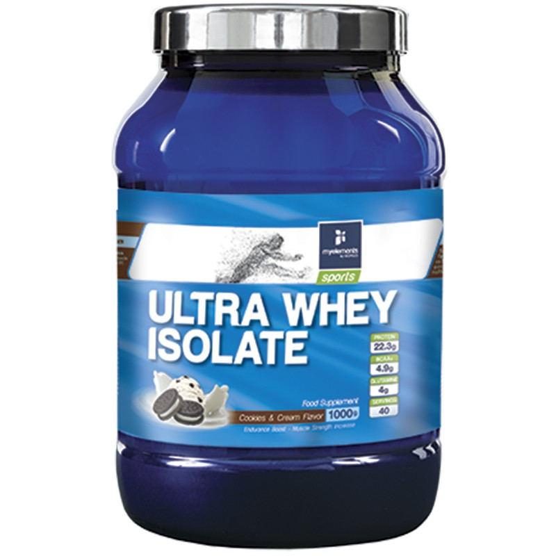 Ultra Whey Isolate Cookies & Cream