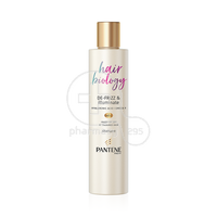 PANTENE - PRO-V HAIR BIOLOGY De-frizz & Illuminate Shampoo - 250ml