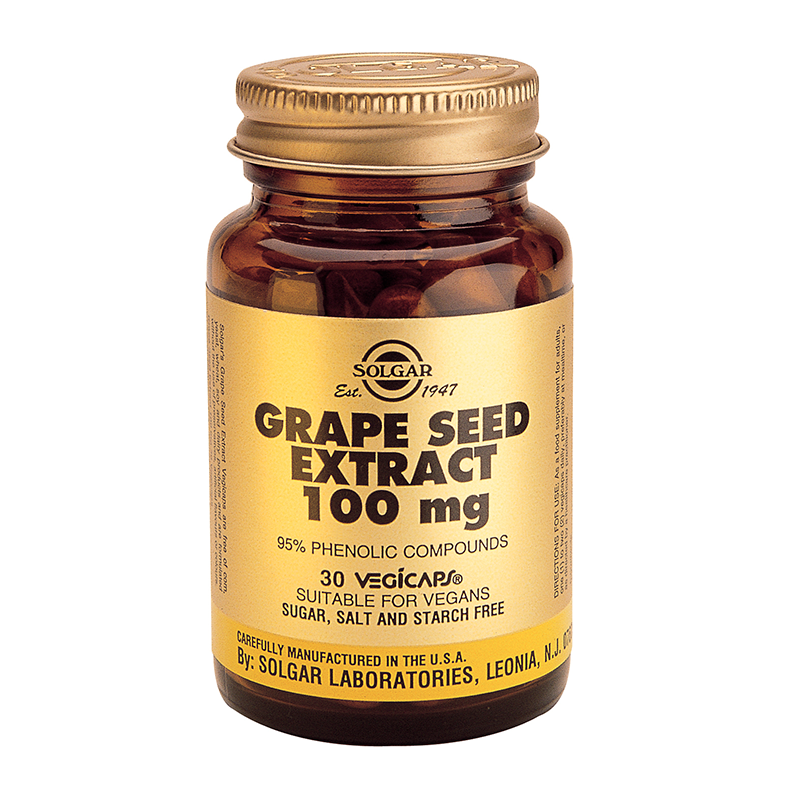 Grape Seed Extract 100mg veg.caps