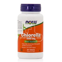 NOW - Chlorella 1000mg - 60tabs