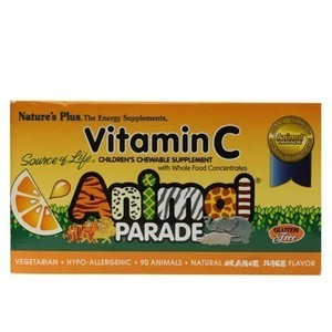 Nature s plus animal parade vitamin c