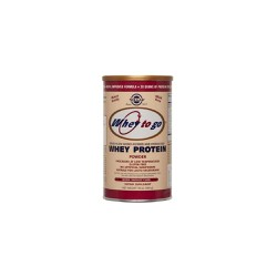 Solgar Whey To Go Protein Powder Chocolate 454gr