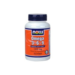 Now Omega 3-6-9 1000mg, 100softgels