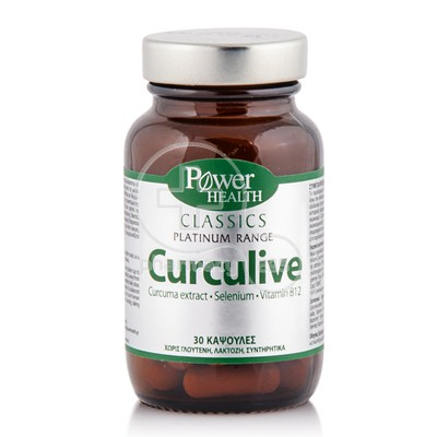 POWER HEALTH - CLASSICS PLATINUM RANGE Curculive - 30caps
