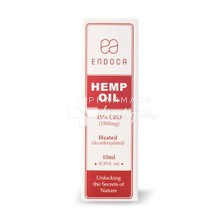Endoca Hemp Oil Drops 1500mg CBD (Cannabidiol) (15%) 10ml