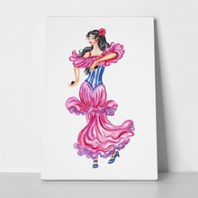 Flamenco dancer 2 a