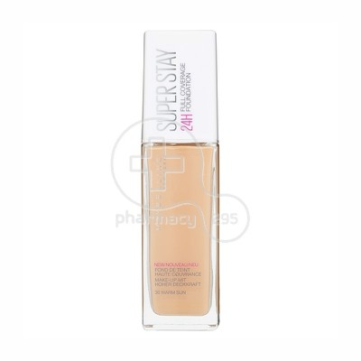 MAYBELLINE - SUPERSTAY Full Coverage Foundation No36 (Warm Sun) - 30ml