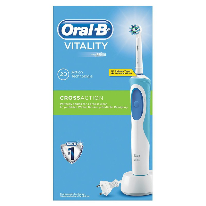 ... Vitality Cross Action - Ηλεκτρική Οδοντόβουρτσα... 0033977  4210201123392 0 ... 9800c24301fa