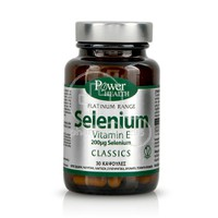 POWER HEALTH - CLASSICS PLATINUM RANGE Selenium - 30caps