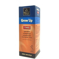 Μeke Grow Up Honey with Cod Liver Oil Syrup150ml