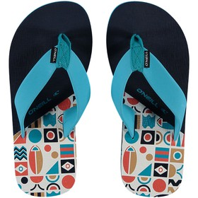 FB IMPRINT PATTERN FLIP FLOPS Παντόφλα Εισ.