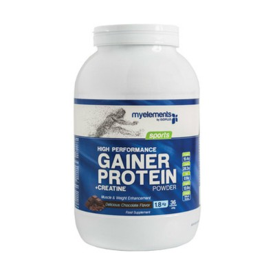 IsoPlus - MyElements Sports High Performance Gainer Protein Powder με Γεύση Σοκολάτα - 1.8kg