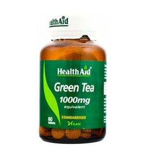 Health aid green tea 1000mg