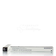 Korres Volcanic Minerals Twist Eyeshadow - 98 Metallic Black, 1.4 gr