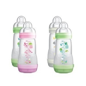 Mam anticolic baby bottle girl