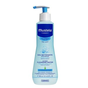 Mustela no rinse cleansing water for face and diaper area 300ml