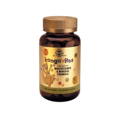 Solgar - Kangavites Complete Multivitamin & Mineral Formula (Tropical Punch Flavour) - 60chew.tabs