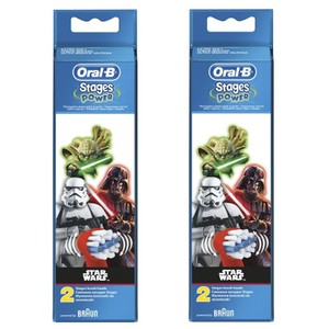 Oral b 2x star wars brushes