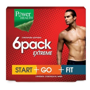 Power health 6pack extreme startgofit 3x30caps